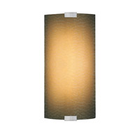 LBL Lighting Omni 1 Light Outdoor Wall in Silver PW561BAMSICF1HEW