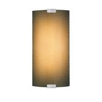 LBL Lighting Omni 1 Light Outdoor Wall in Silver PW561BAMSICF1HEW