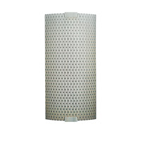 LBL Lighting Omni 1 Light Outdoor Wall in Silver PW561METSICF2HEW