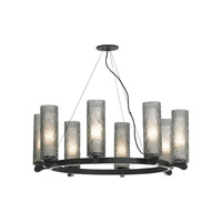 LBL Lighting Rock Candy 8 Light Chandelier in Bronze SU6238SMBZ2G