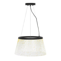 LBL Lighting Duke Grande 1 Light Suspension Light in Bronze SU756CRMSBZLED277