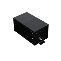 LBL Lighting TRANS-RMTE-600M/24V277 Monorail Hardware 24V Rail Transformer Magnetic Ceiling Light in 277V In/24V Out