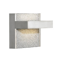 LBL Lighting Ashland 1 Light Wall in Satin Nickel WS696ALSCLED