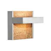 Ashland LED 6 inch Satin Nickel ADA Wall Wall Light in Cork, 277V