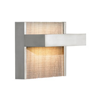 LBL Lighting Ashland 1 Light Wall in Satin Nickel WS696HOSCLED