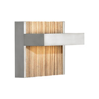 Ashland LED 6 inch Satin Nickel ADA Wall Wall Light in Zebra, 120V