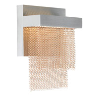 LBL Lighting Camelot 1 Light Wall in Bronze and Satin Nickel WS698BZSCLED