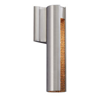 Dolly LED 5 inch Satin Nickel ADA Wall Wall Light in Gold Crystal Interior, 120V