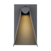 Charcoal Aluminum Elpha Outdoor Wall Lights