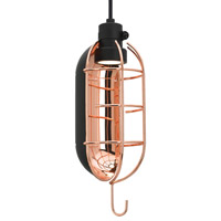 LBL Mekanic LED Line-Voltage Pendant in Black LP839BCBLLED830