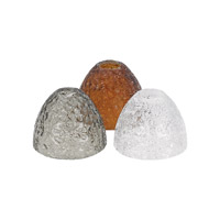 LBL Lighting HAC606SM Rock Candy Smoke 3 inch Low-Voltage Mini Pendant Shade photo thumbnail