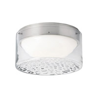LBL Precip LED Flush Mount in Satin Nickel FM873CRSCLED830277