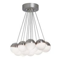Sphere LED 44 inch Suspension Ceiling Light in Satin Nickel, Frost (Sphere), 3000K