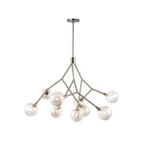 Sycamore 9 Light 38 inch Satin Nickel Chandelier Ceiling Light