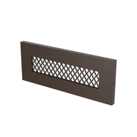 Tracery 277V 5 watt Bronze Brick Light in FCA Compliant