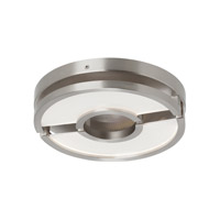 LBL Zahra LED Flush Mount in Satin Nickel FM870SCLED830277
