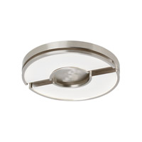 LBL Zahra LED Flush Mount in Satin Nickel FM872SCLED830