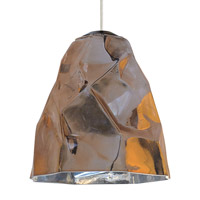 Zuri LED 9 inch Bronze Line-Voltage Pendant Ceiling Light in Copper (Zuri)