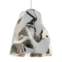 Zuri LED 9 inch Bronze Line-Voltage Pendant Ceiling Light in Silver (Zuri)
