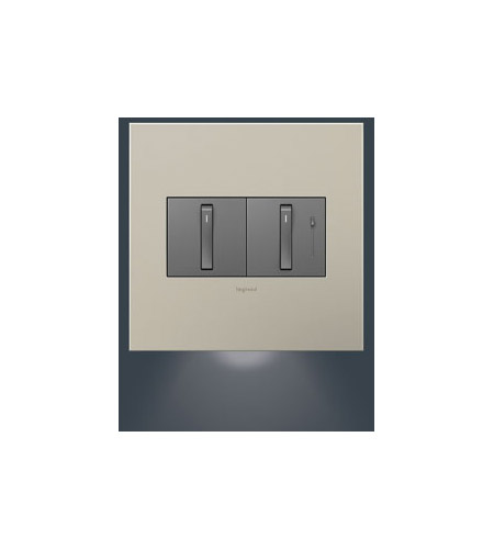 Legrand Adorne Dimmer Accessory 2-Gang Accent Nightlight AAAL2G2 photo