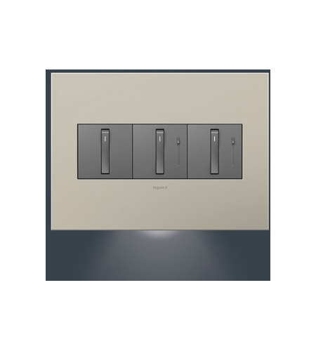 Legrand Adorne Dimmer Accessory 3-Gang Accent Nightlight AAAL3G2 photo