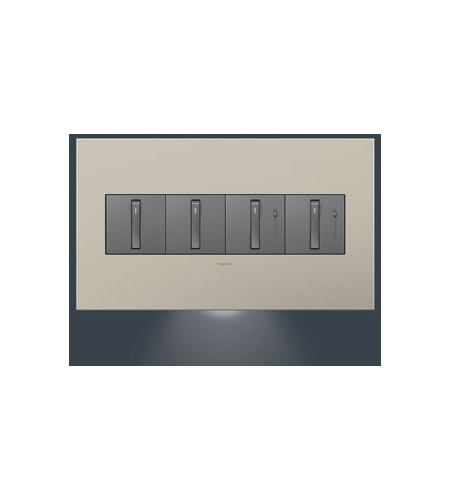 Legrand Adorne Dimmer Accessory 4-Gang Accent Nightlight AAAL4G2 photo