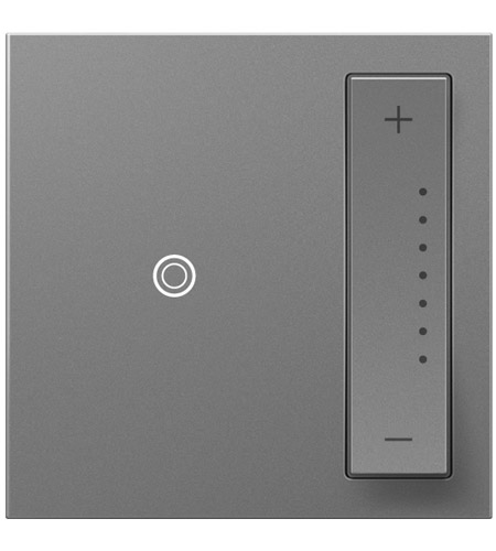 Legrand ADTP703HM2 Adorne 700 watt Magnesium Dimmer photo