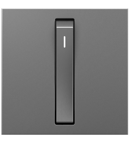 Legrand ASWR1532M4 Adorne Magnesium Whisper Switch, 15A photo