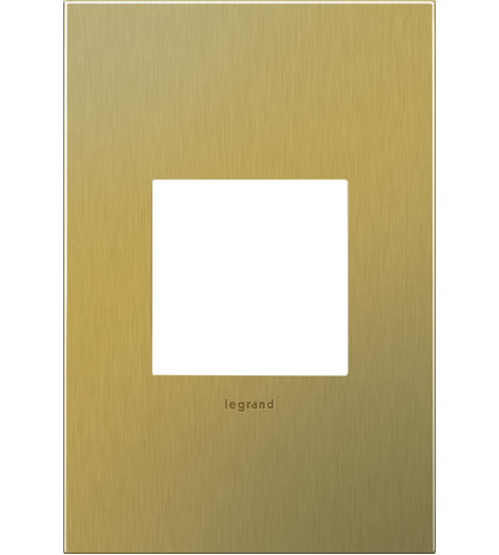 Brushed Brass Switch Plates
