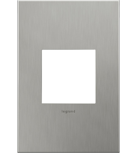Legrand AWC1G2BS4 Cast Metals Brushed Stainless Steel Wall Plate photo
