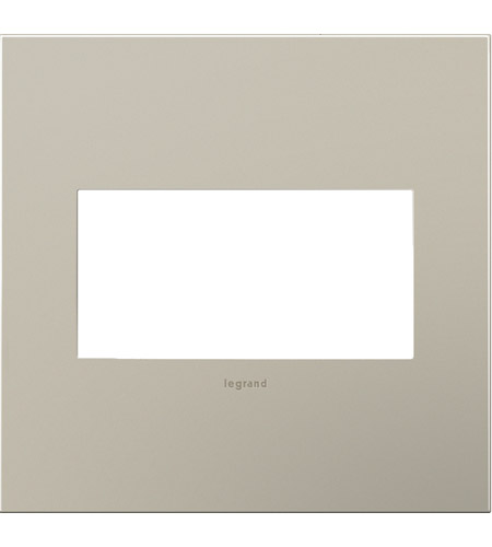 Legrand AWC2GSN4 Adorne Satin Nickel Wall Plate photo