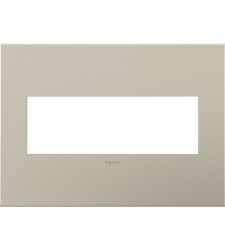 Legrand AWC3GSN4 Cast Metals Satin Nickel Wall Plate photo