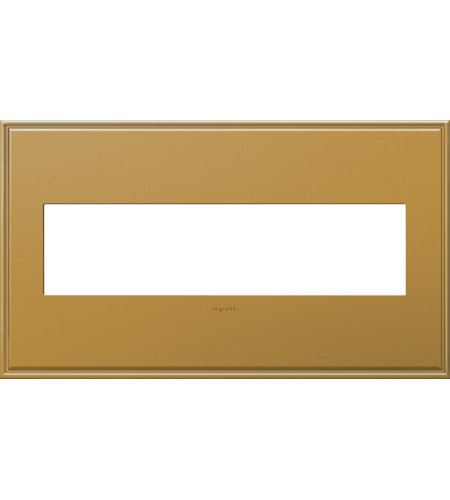 Legrand AWC4GNB4 Adorne Antique Bronze Wall Plate photo