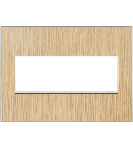 Legrand Adorne Real Materials 3-Gang Wall Plate in French Oak AWM3GFH4 photo