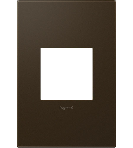 Legrand Adorne Plastics 1-Gang Wall Plate in Bronze AWP1G2BR10 photo