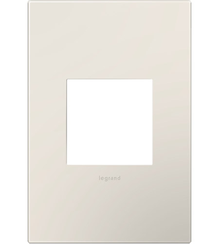 Legrand Adorne Plastics 1-Gang Wall Plate in Satin Light Almond AWP1G2LA6 photo