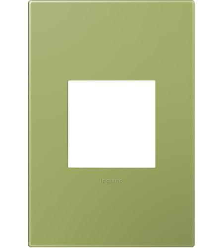 Legrand Adorne Plastics 1-Gang Wall Plate in Lichen Green AWP1G2LG6 photo