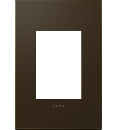 Legrand Adorne Plastics 1-Gang, 3-Module Wall Plate in Bronze AWP1G3BR4 photo