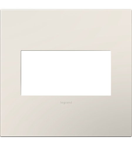 Legrand Adorne Plastics 2-Gang Wall Plate in Satin Light Almond AWP2GLA4 photo