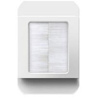 Legrand ACBRSTPW1 Adorne White In Wall Cable Access Port