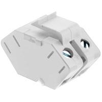 Legrand ACSSIW1 Adorne White Keystone Speaker Connector