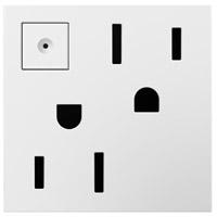 Legrand ARPS152W4 Adorne White Outlet