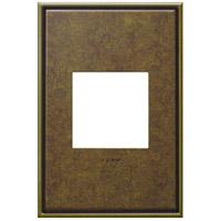 Legrand AWC1G2AB4 Adorne Aged Brass Wall Plate 1-Gang