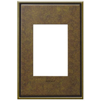 Legrand Adorne Cast Metals 1-Gang, 3-Module Wall Plate in Aged Brass AWC1G3AB4