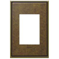 Legrand AWC1G3AB4 Adorne Aged Brass Wall Plate 1-Gang