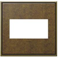 Legrand AWC2GAB4 Adorne Aged Brass Wall Plate 2-Gang