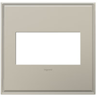 Legrand Adorne Cast Metals 2-Gang Wall Plate in Antique Nickel AWC2GAN4