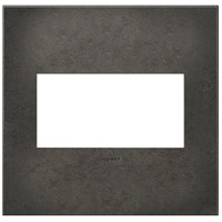 Legrand AWC2GDP4 Adorne Dark Burnished Pewter Wall Plate 2-Gang