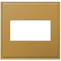 Legrand Adorne Cast Metals 2-Gang Wall Plate in Antique Bronze AWC2GNB4