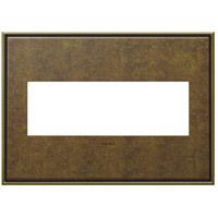 Legrand AWC3GAB4 Adorne Aged Brass Wall Plate 3-Gang